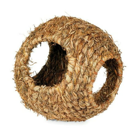 - Prevue Hendryx 1095 Nature'S Hideaway Grass Ball Toy Large (Pack of 1)