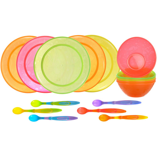 Munchkin Infant and Toddler Feeding Set, BPA-Free, 16 Piece