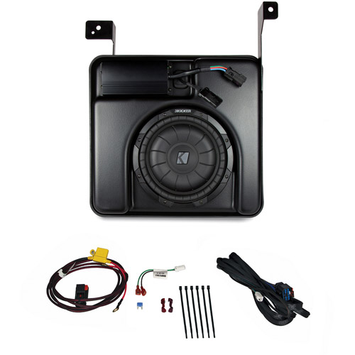 Kicker VSS SubStage Powered Subwoofer for 2014 Silverado/Sierra Crew Cab