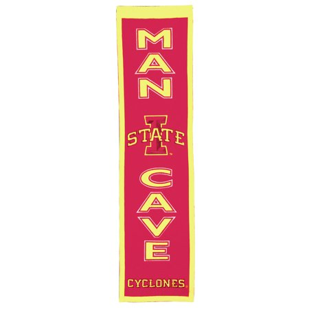 """Iowa State Cyclones 8"""" x 32"""" Man Cave Banner - No Size"""