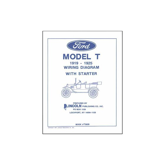 MACs Auto Parts Premier Products 16-55708 Model T Ford Electrical Wiring  Long Tractor Wiring Diagram on