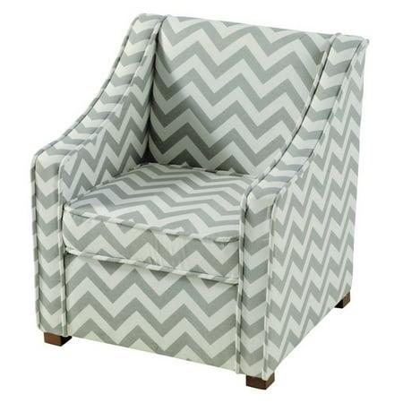 Linon Alexandria Gray Chair - Alexandria Chair
