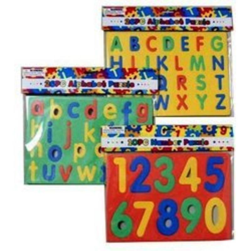 Alphabet & Numbers Foam Puzzle by DDI - image 1 de 1