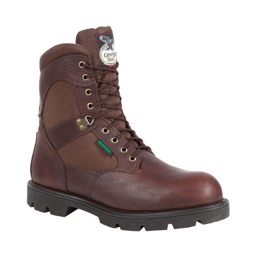"Men's Georgia Boot G108 8"" Homeland Waterproof Work Boot"