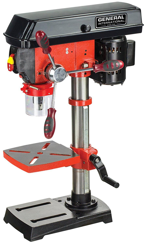 "General International Power Products DP2002 10"" 5 Speed Drill Press by General International Power Products LLC"