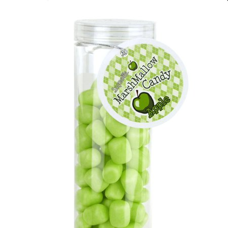 Marshmallow Candy Plastic Tube Party Favor, 200-gram, 12-Inch, Apple](Halloween Party Marshmallow Pops)