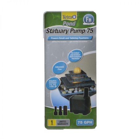 - Tetra Pond Statuary Pond Pump 75 GPH - Pack of 2