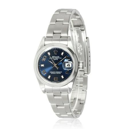 Rolex Date 79160 Women's Watch in Stainless Steel