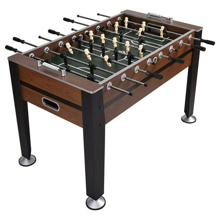 Costway 54'' Foosball Soccer Table Competition Sized Football Arcade Indoor Game Room](Cheap Football Tables)