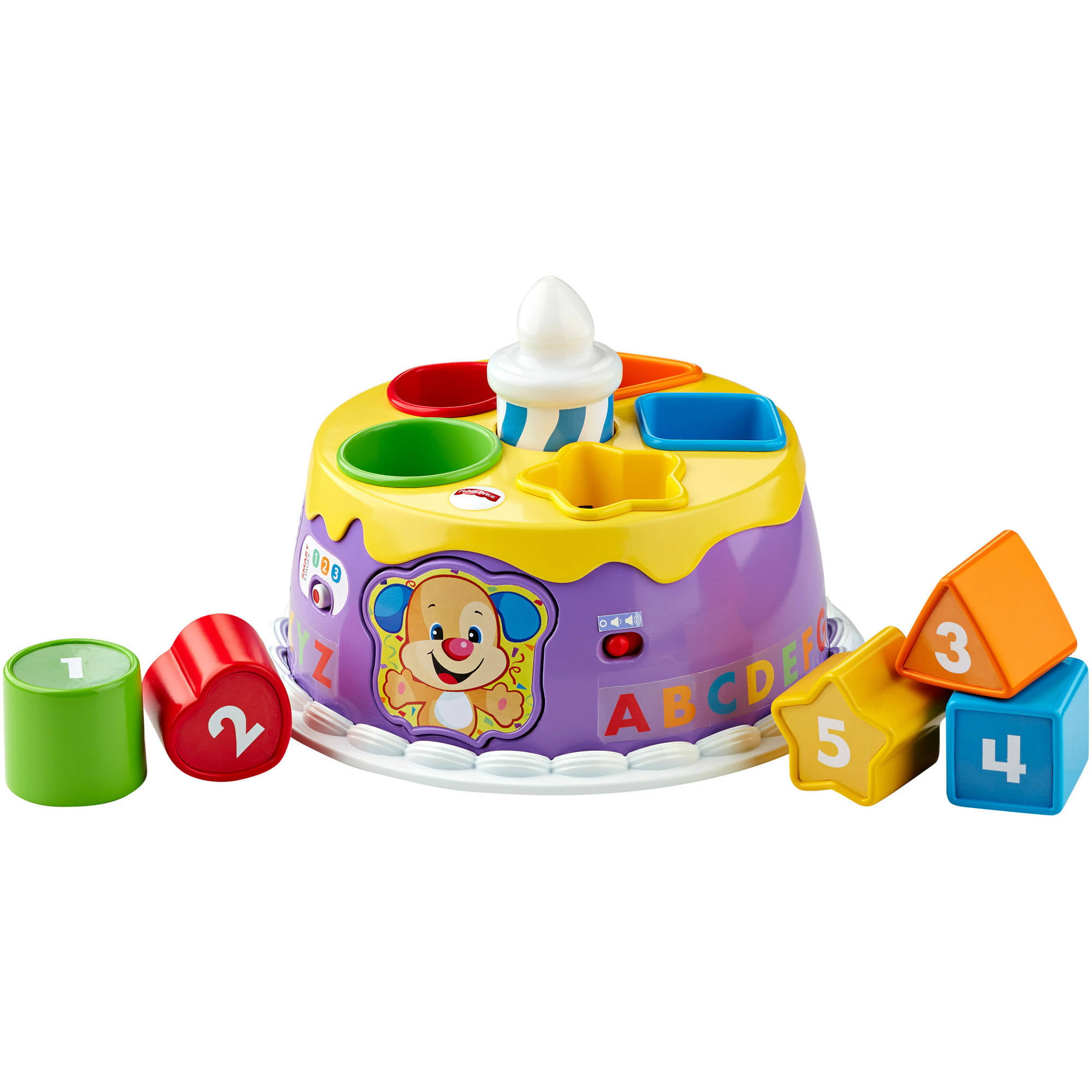 FisherPrice Laugh Learn Smart Stages Magical Lights Birthday Cake