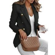 2020 Spring New Fashion Women Lapel Collar Wool Long Winter Parka Coat Trench Outwear Jacket Tops Ladies Long Midi Double Breasted Blazer Coat Outwear
