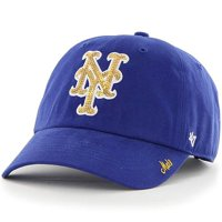 New York Mets '47 Women's Sparkle Clean Up Adjustable Hat - Royal