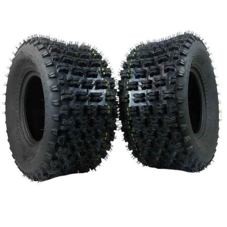 MASSFX 20x10-9 MO ATV TIRE 2 SET REAR 4PLY Dynamic Tread Pattern 20x10x9