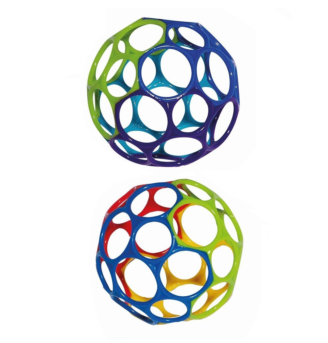 2 Pack Value Bundle, Oball Toy Ball, Multicolored