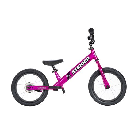 Strider 14x Steel Frame Beginner Kids Learning Bicycle Balance Bike Kit,