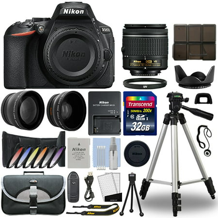 Nikon D5600 Digital SLR Camera + 18-55mm VR 3 Lens Kit + 32GB Best Value
