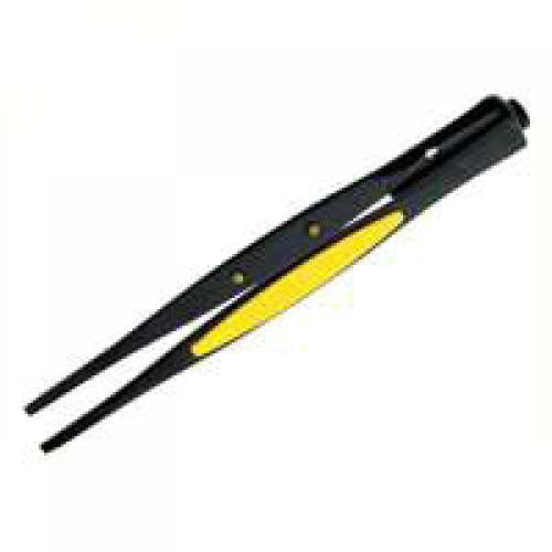 General Tools 70403 Ut Blunt Lighted Tweezers Illuminated Serrated Blunt - Each