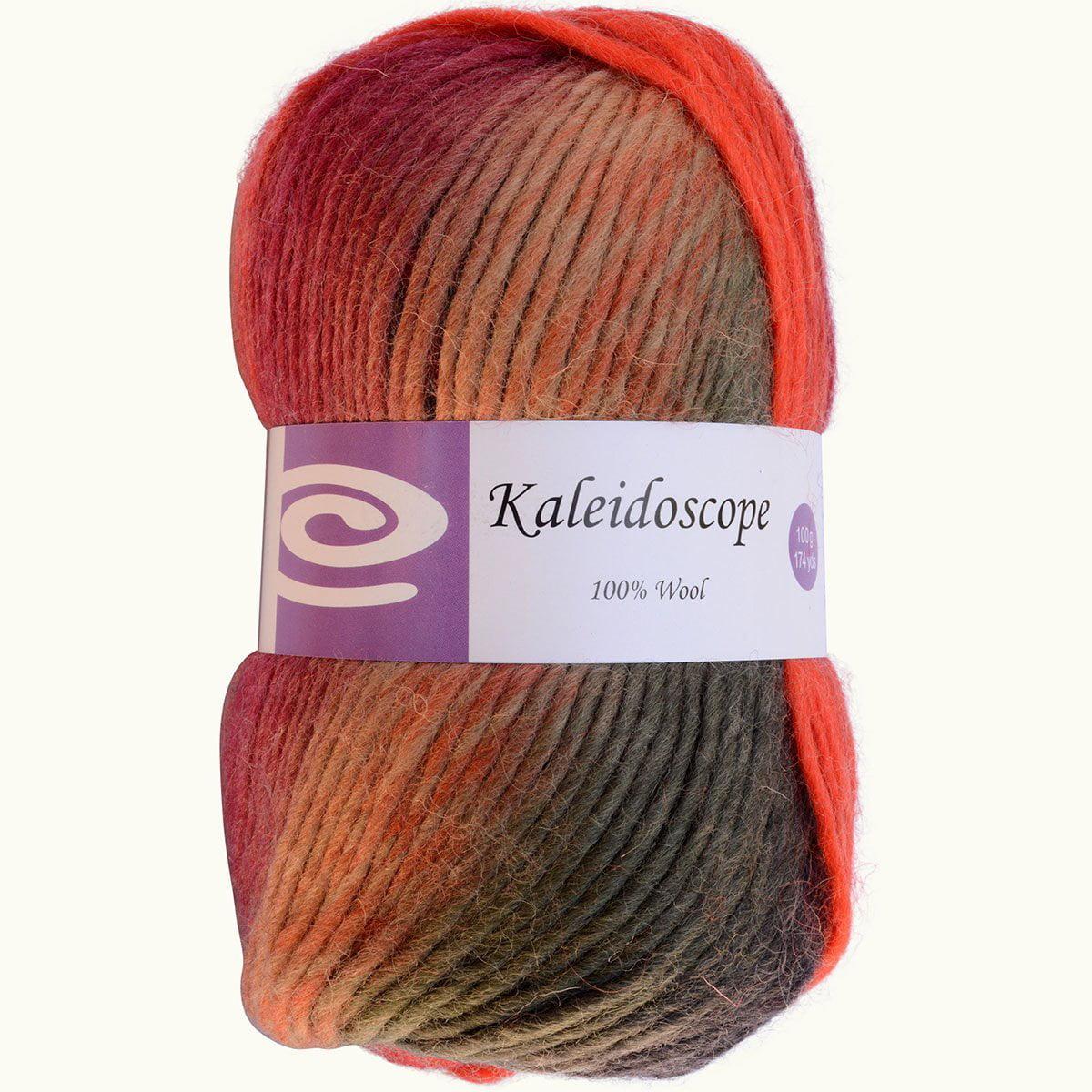 Kaleidoscope Yarn Autumn Leaves This Beautiful 100 Wool Yarn Is