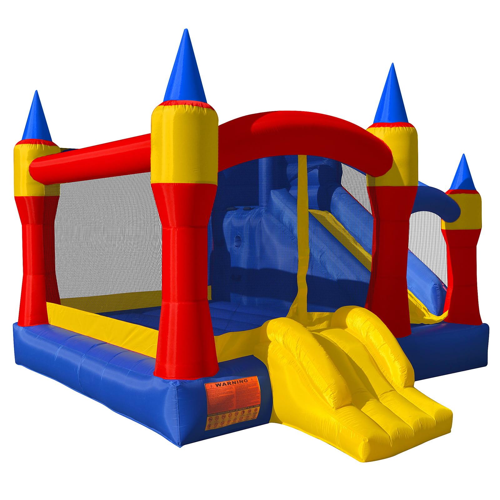 Cloud 9 Royal Slide Bounce House Inflatable Bouncing Jumper