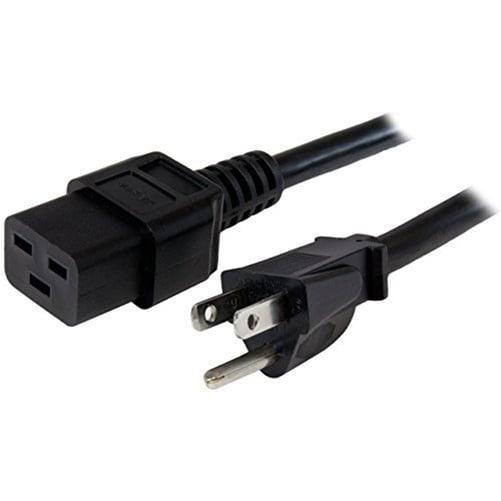 Startech PXT515191410 10Ft 14 Awg Power Cord Nema 5 15P To C19