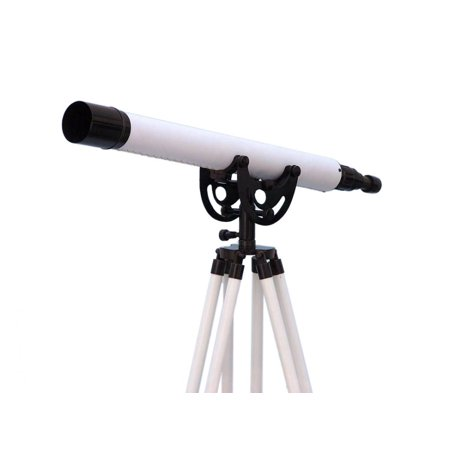 Floor Standing Brushed Nickel Anchormaster Telescope 50