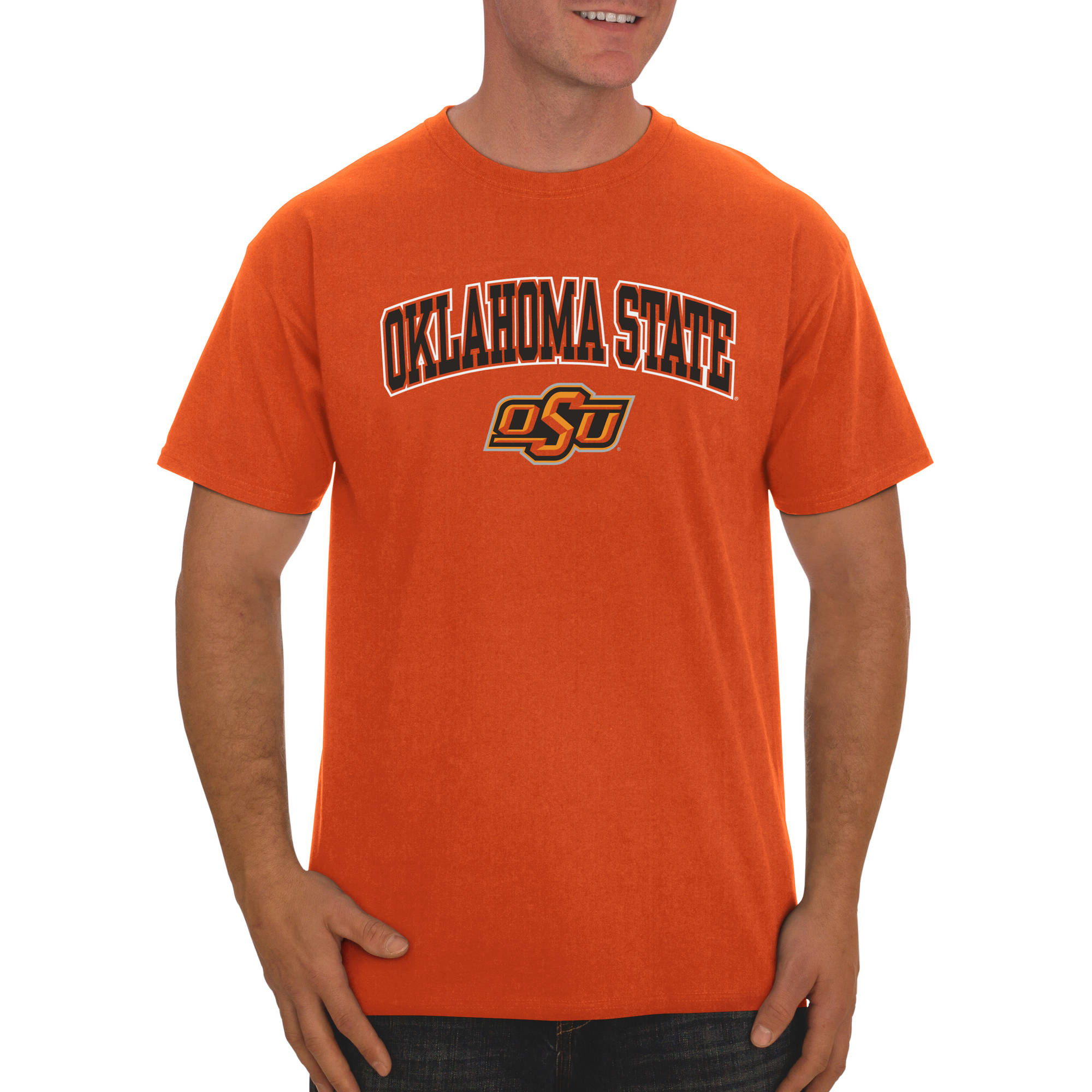 Russell NCAA Oklahoma State Cowboys Big Men's Classic Cotton T-Shirt