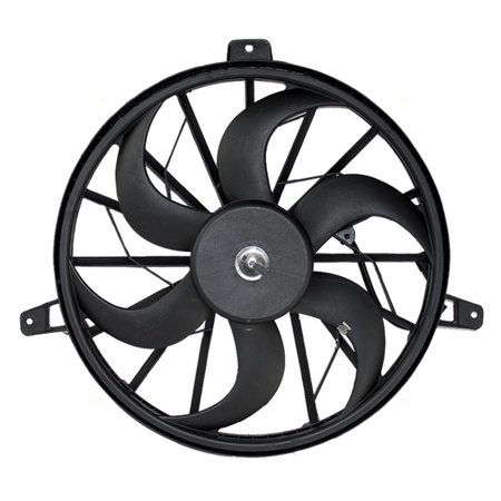 BROCK Radiator Cooling Fan Blade with Motor Replacement for Jeep Grand Cherokee Liberty SUV 52079528AB