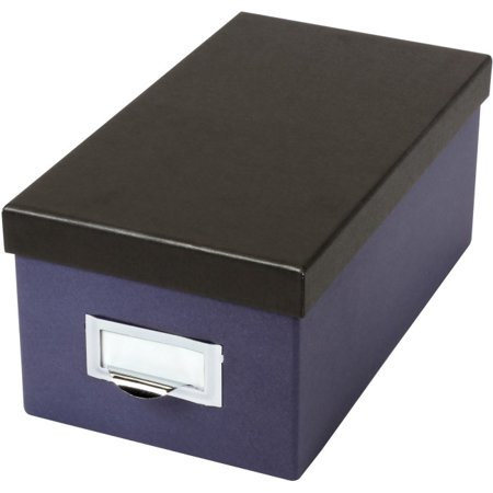 Oxford Index Card Storage Box - External Dimensions: 11.5