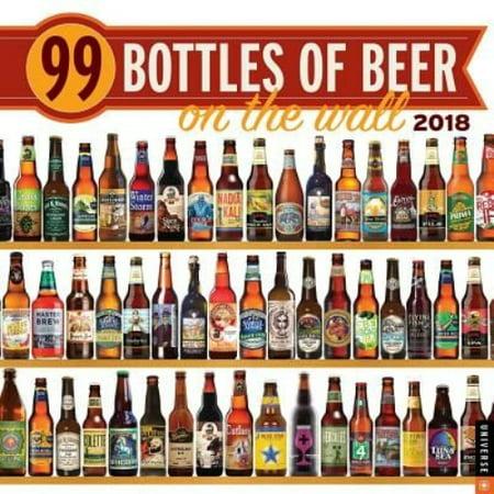 99 Bottles Of Beer On The Wall 2018 Calendar