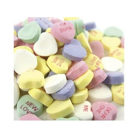 NECCO Small Conversation Hearts Valentine Candy 2 pounds original flavors for $<!---->