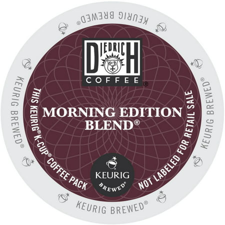 Diedrich Morning Edition Blend Coffee, K-Cup Portion Pack for Keurig Brewers](Halloween Coffee Morning)