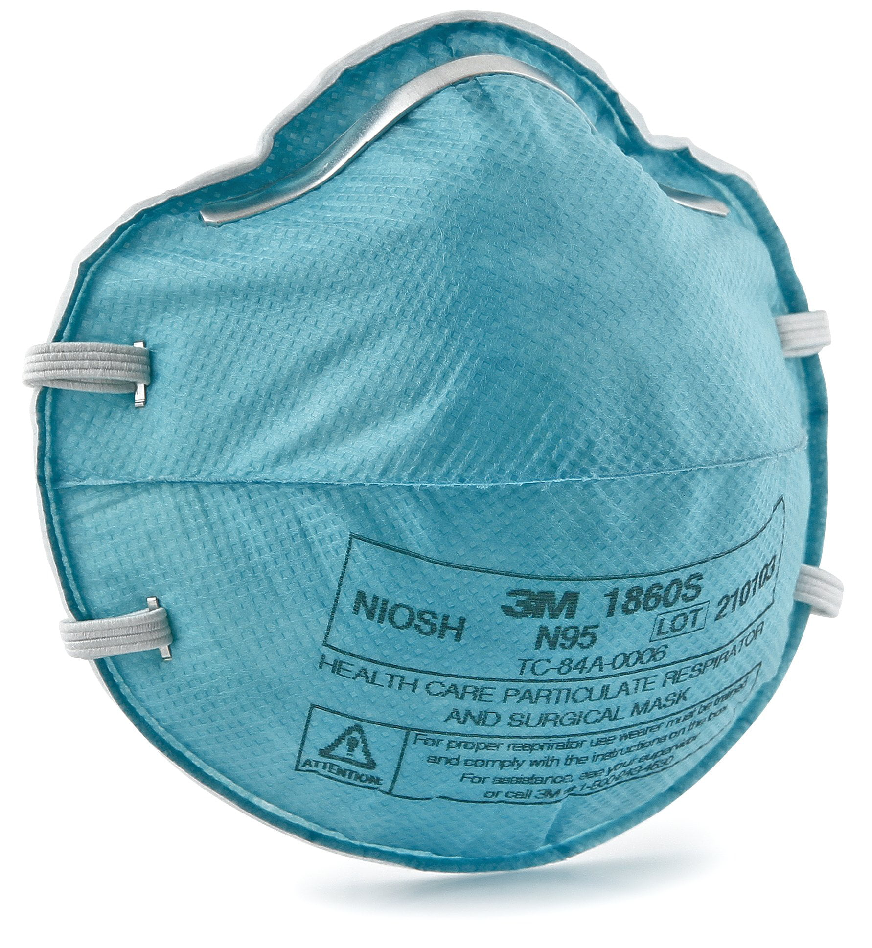 Surgical - Blue Respirator com Walmart 3m 1860s Case Cup Of Small N95 Particulate 120 Earloops Mask