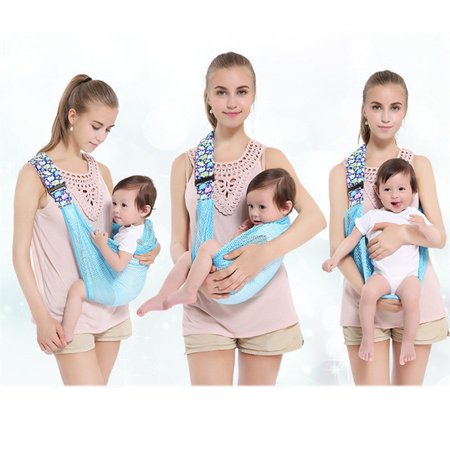 Newborn L/s Body Wrap - Baby Wrap Carrier Sling ,Natural Cotton Nursing Baby Wrap Suitable for Newborns ,Ergonomically-Designed Child Carriers,Great Baby Shower Gift