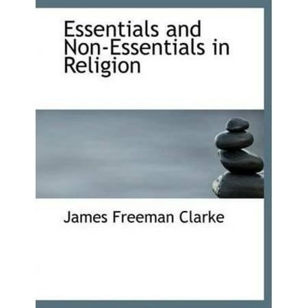 Essentials and Non-Essentials in Religion - image 1 of 1