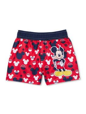 Mickey Mouse Baby Boy Swim Trunks