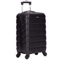 Deals on Wrangler 20-inch Carry-On Rolling Hardside Spinner Luggage