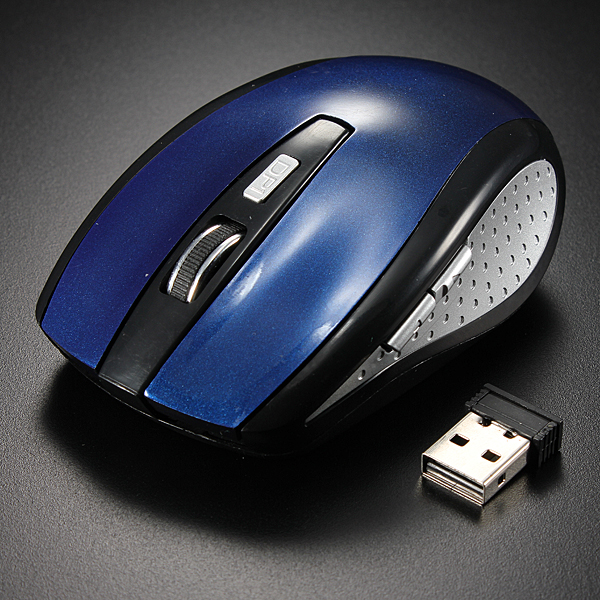 2.4GHz Button Wireless Optical Mouse Mice+USB Receiver For Universal PC Laptop