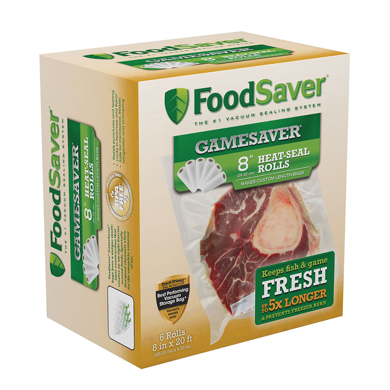 "Click here to buy FoodSaver GameSaver 8"" x 20"