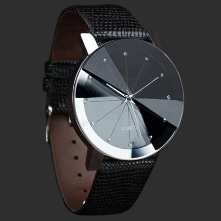 Iuhan Luxury Quartz Sport Military Stainless Steel Dial Leather Band Wrist Watch Men Designer Leather Wrist Watch