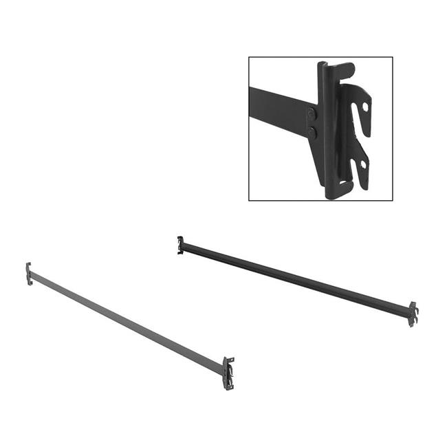 Fashion Bed Group 430001 75 in. 140H Bed Frame Side Rails...