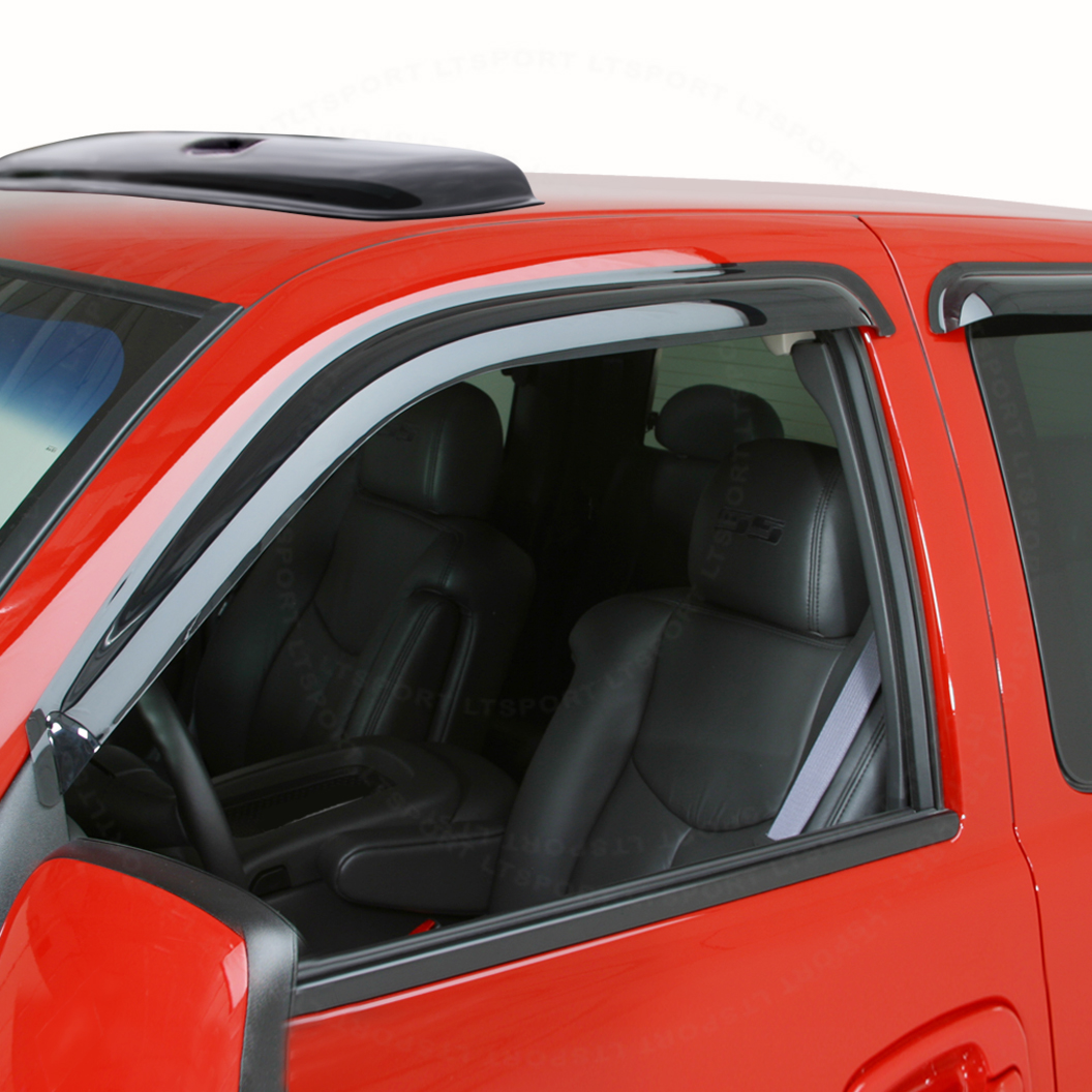 Fit 07-10 Jeep Compass WINDOW VISOR + SUN ROOF SHADE VENT...