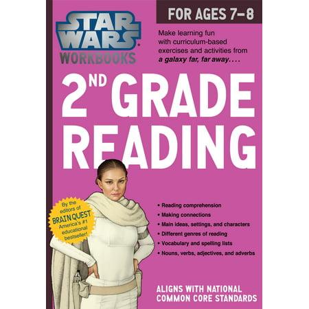 Halloween Reading Activities Second Grade (Star Wars Workbook: 2nd Grade Reading -)