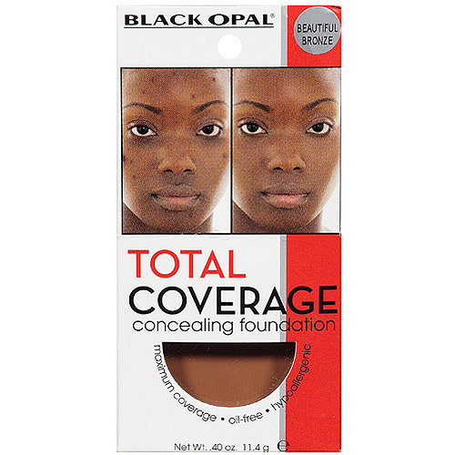 Black Opal Total Coverage Concealing Foundation, Beautiful Bronze, 0.40 oz