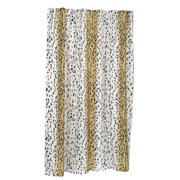 Ben Jonah Hailey Extra 100 Polyester Fabric Shower Curtain Size 108 Wide