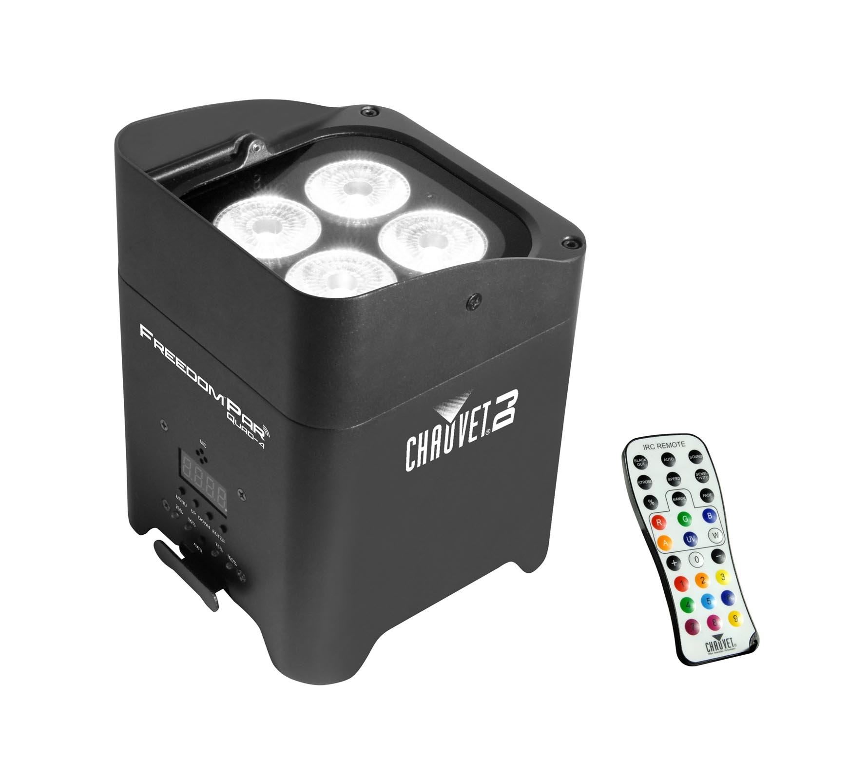 Chauvet DJ Freedom Par Quad 4 Wireless Battery LED Wash Light Effect w/ Remote