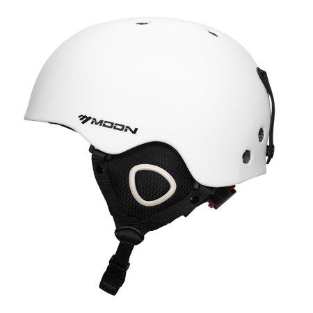Moon Skiing Helmet Adult Kid Equipment Autumn Winter Snow Skating Sports Integrally Molded Outdoor Ultralight Matte Saftly Snowboard Helmets