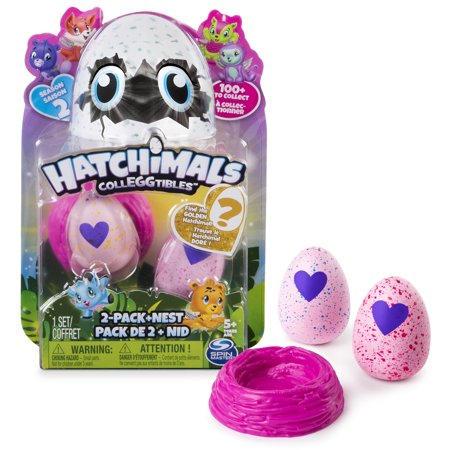 Hatchimals Colleggtibles Season 2   2 Pack   Nest  Styles   Colors May Vary  By Spin Master