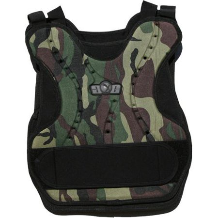 Gen X Global Paintball Chest Protector - Woodland -