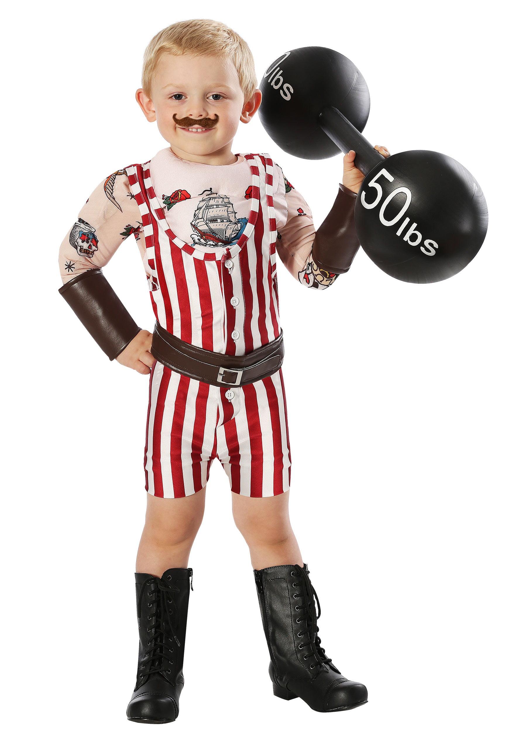 Vintage Strongman Toddler Costume | Walmart Canada