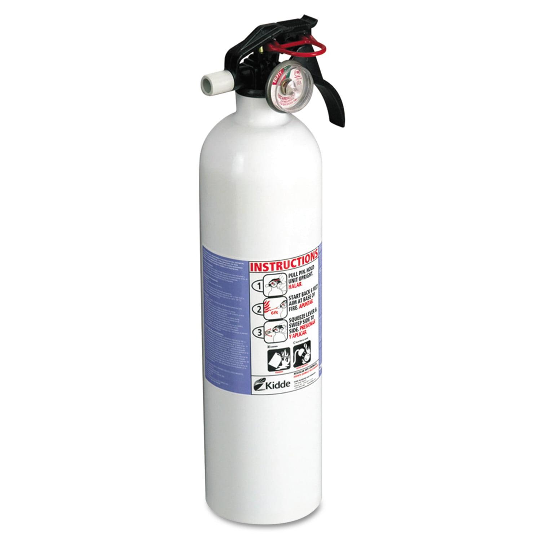 kidde residential series kitchen fire extinguisher, 2.9lb, 10-b:c